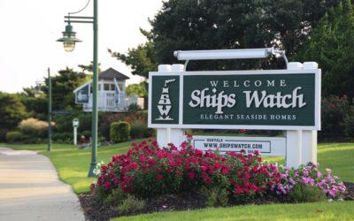 Ships Watch - sign portrait